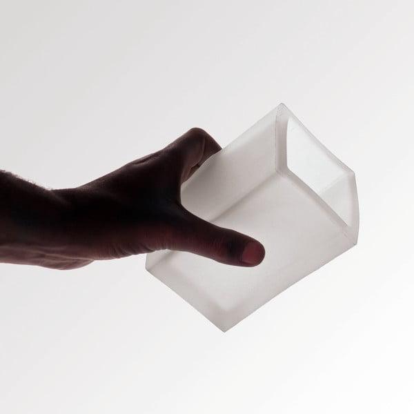 Nerozbitná váza Ivasi Medium, šedomodrá