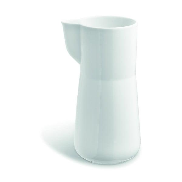 Kaolin fehér csontporcelán tejeskancsó, 1 l - Kähler Design