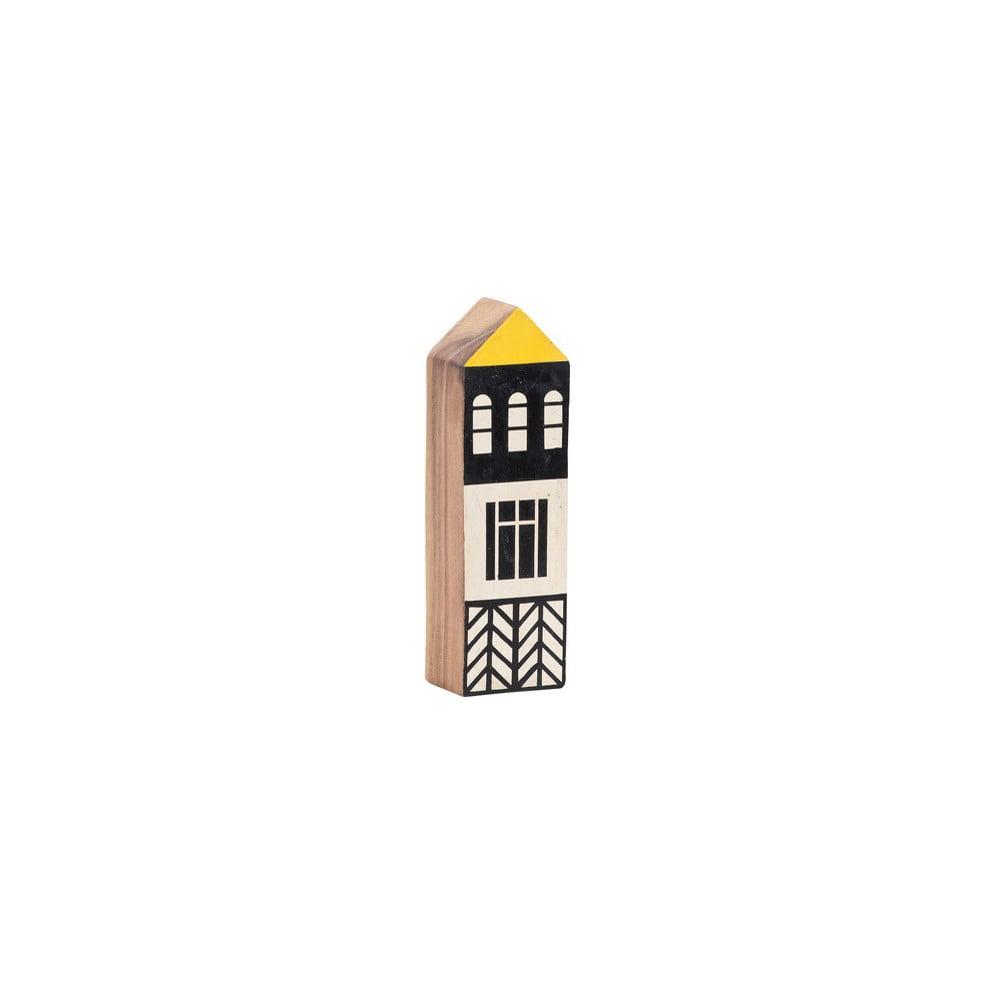 Dřevěný dekorativní domek Vox Budynek, výška 20 cm