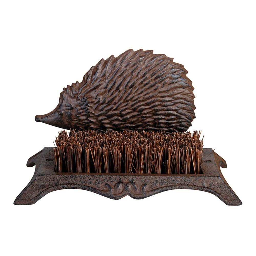 Litinový kartáč na boty s motivem ježka EsschertDesign
