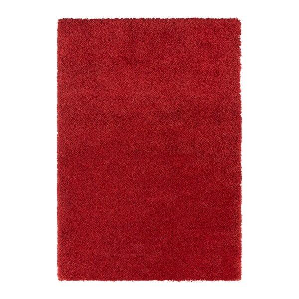 Červený koberec Elle Decor Lovely Talence, 80 x 150 cm