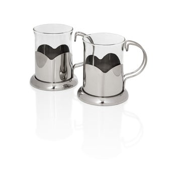 Set 2 căni Sabichi Glass, 220 ml de la Sabichi