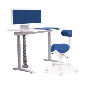 Ergo stůl, modrý