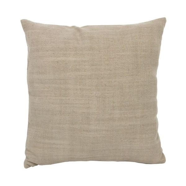 Béžový polštář 40x40 cm