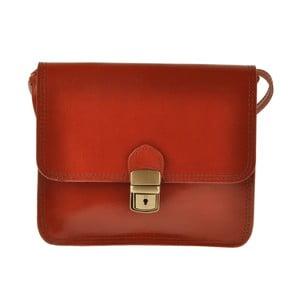Červená kožená kabelka Ore Diece Linter