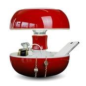 Stolní lampa a nabíječka v jednom Joyo Classic, červená
