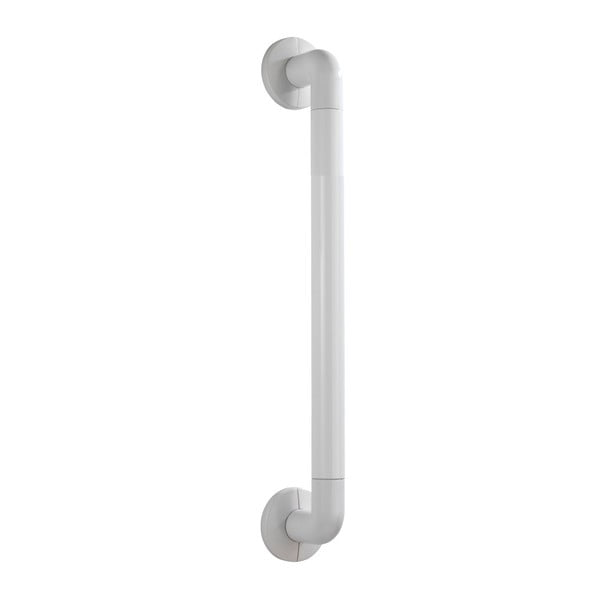 Biele bezpečnostné držadlo do sprchy pre seniorov Wenko Secura, dĺžka 43 cm