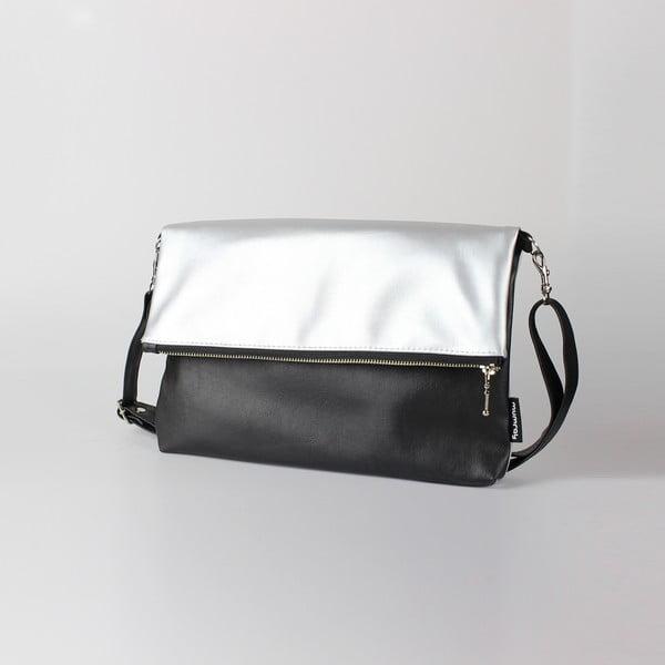 Taška Mum-ray Fold Silver Black