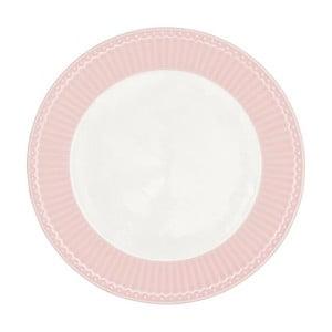 Farfurie Green Gate Alice, diametru 23 cm, roz