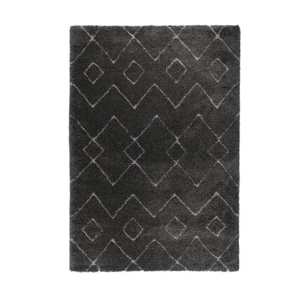 Covor Flair Rugs Imari, 80 x 150 cm, gri închis