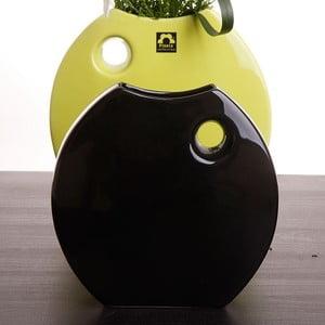 Váza Arros 18 cm, zelená