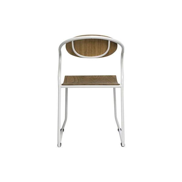 Jídelní židle s bílými nohami Red Cartel Walter