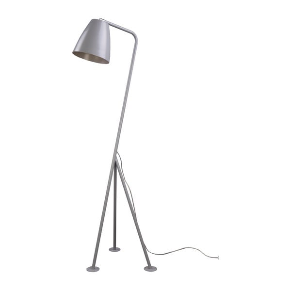 Šedá stojací lampa Nørdifra Omega