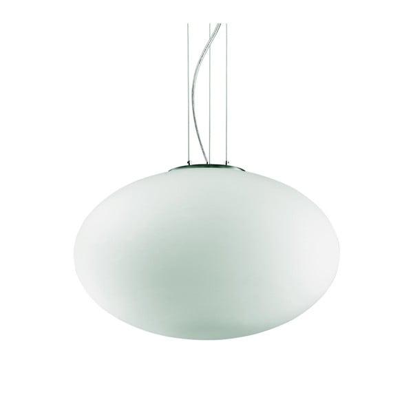 Bílé závěsné svítidlo Evergreen Lights Kolujo