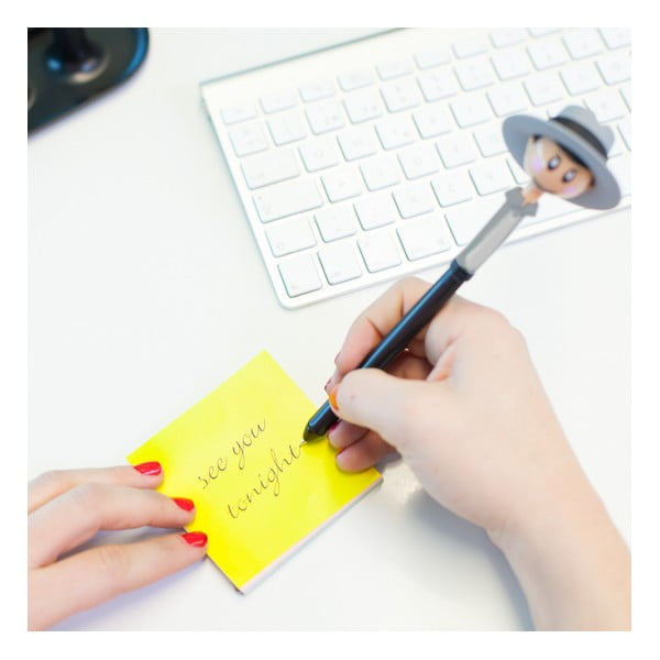 Kancelářský stojánek s bločkem a 2 tužkam Vigari Duo