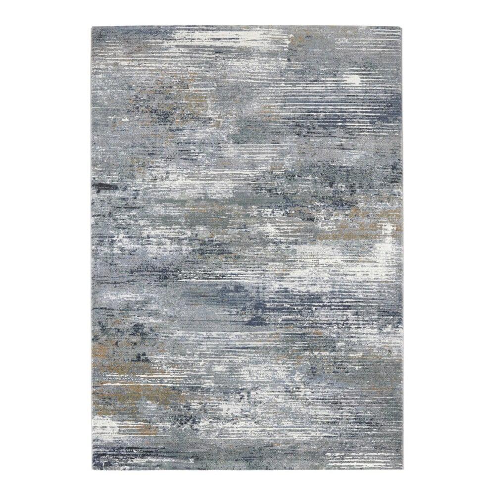 Šedo-modrý koberec Elle Decor Arty Trappes, 200 x 290 cm