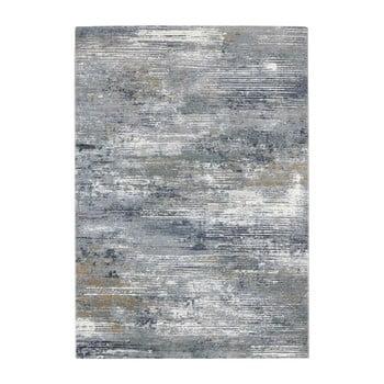 Covor Elle Decor Arty Trappes, 200 x 290 cm, gri - albastru