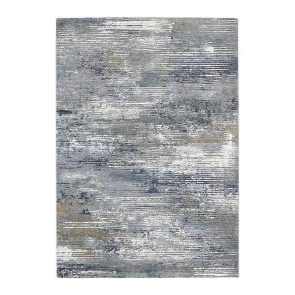 Šedo-modrý koberec Elle Decor Arty Trappes, 120 x 170 cm