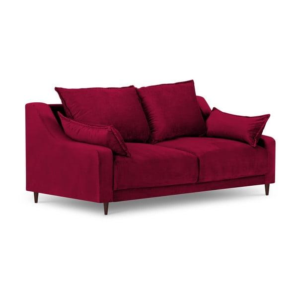 Červená dvoumístná pohovka Mazzini Sofas Freesia
