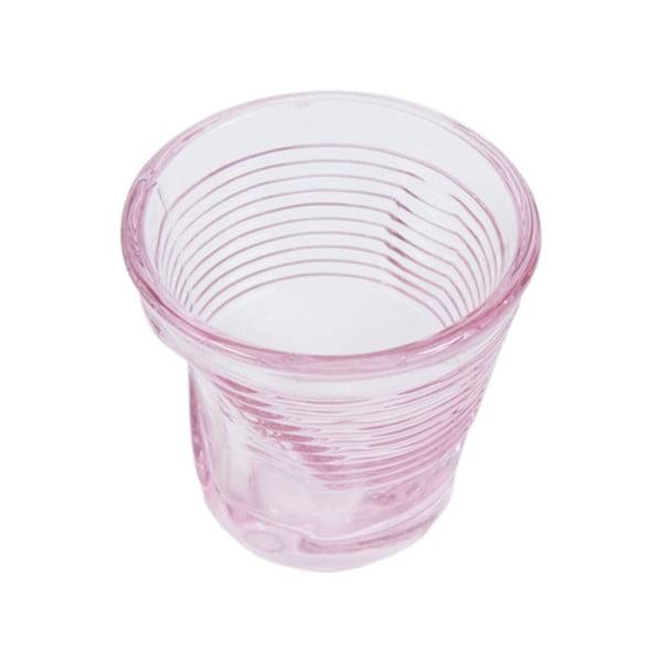 Sada 6 sklenic Kaleidos 115 ml, růžová