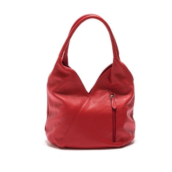 Czerwona torebka skórzana Roberta M Brigida