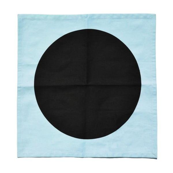 Bavlněný ubrousek Black Meets Blue