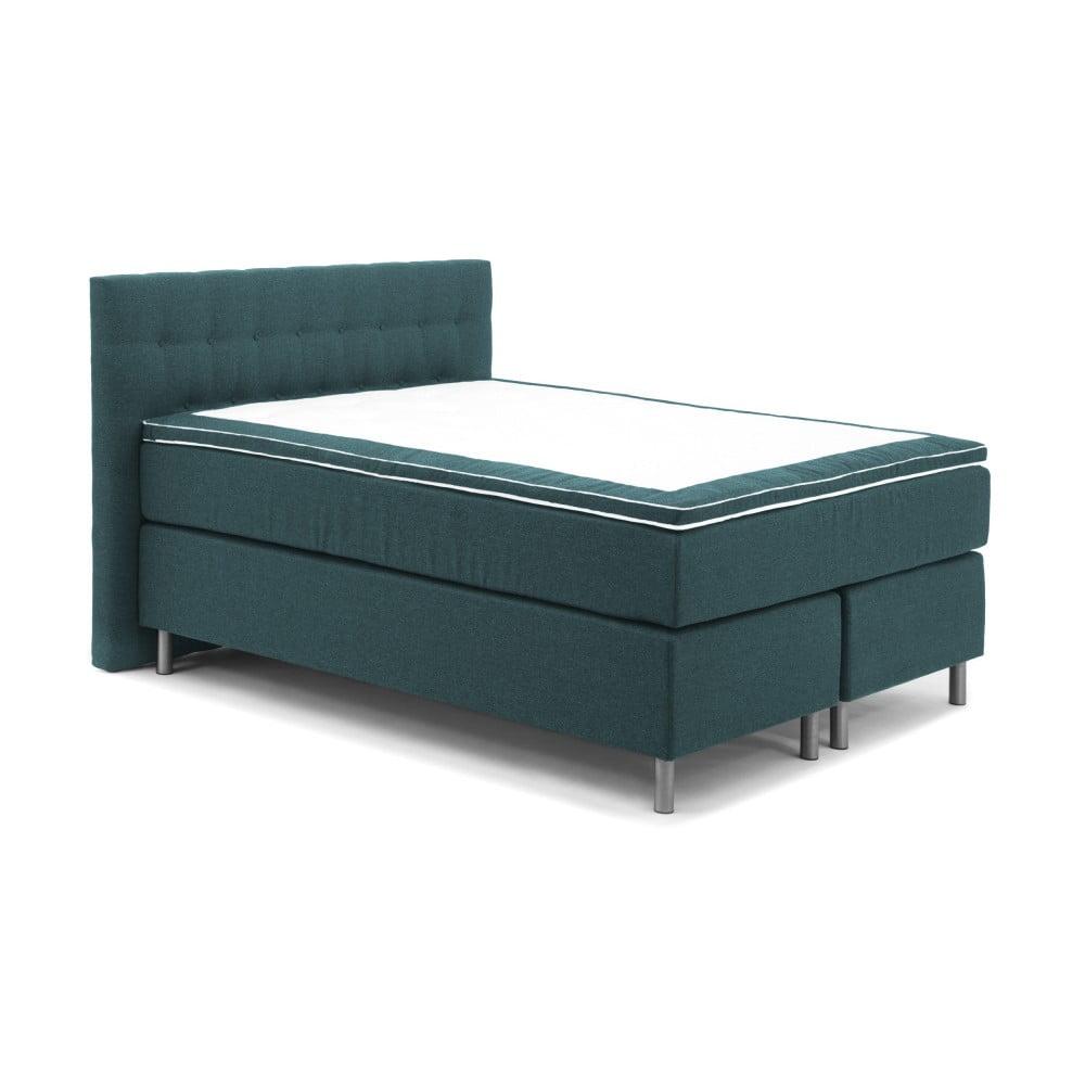 tyrkysov boxspring postel vivonita koso 160 x 200 cm bonami. Black Bedroom Furniture Sets. Home Design Ideas