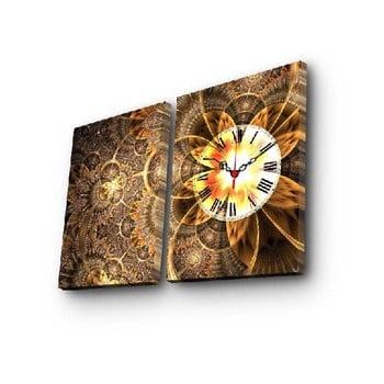 Ceas de perete cu imagine Clock, 60 x 38 cm