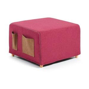 Tmavě růžová rozkládací postel La Forma Kos, 70x180cm