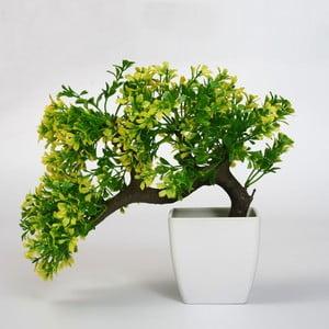 Umělá květina v květináči Bonsai Verde