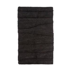 Černá koupelnová předložka Zone Flow, 50x80cm