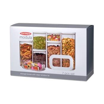 Set 7 cutii pentru depozitare alimente Rosti Mepal Modula Starter de la Rosti Mepal