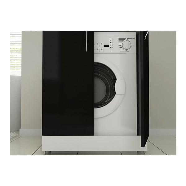 Skříň na pračku Mine Black
