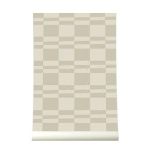 Tapeta Square Stripe Beige