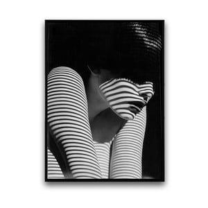 Plakát v dřevěném rámu Femme Fatale