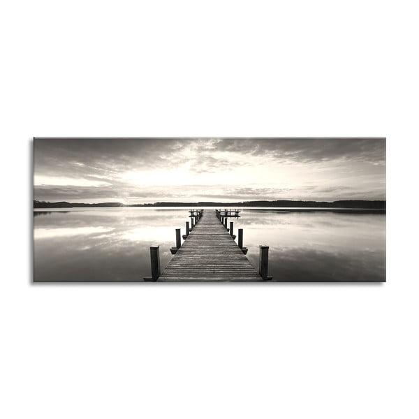 Obraz Styler Canvas Silver Uno Molo Lante, 60 x 150 cm