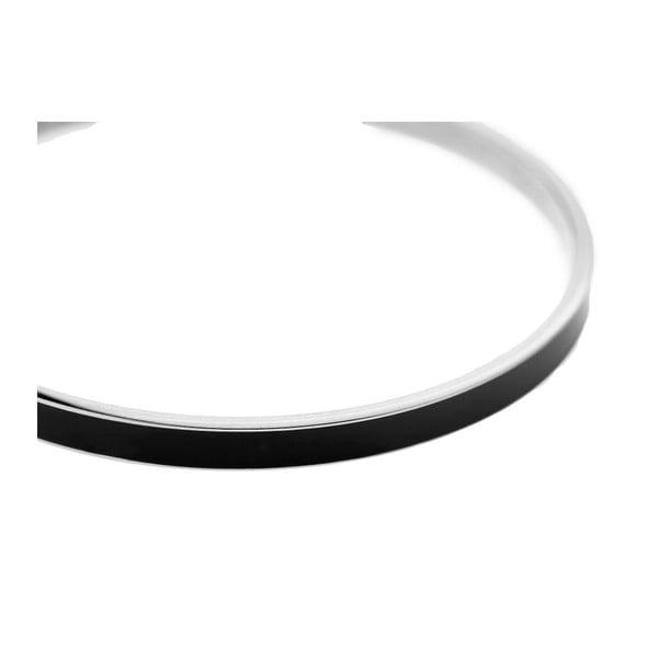 Unisex náramek černé barvy z nerezové oceli Emily Westwood