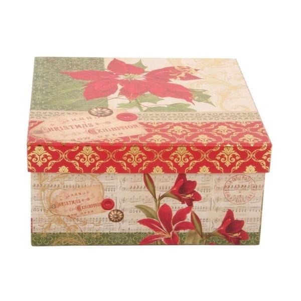 Sada 3 úložných krabic Red Star
