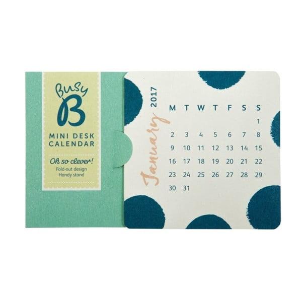Mini stolní kalendář Busy B Fashion 2017