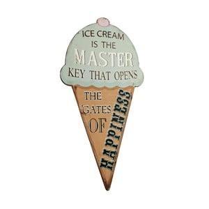 Cedule Ice Cream, 52x29 cm