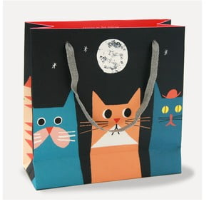 Dárková taška U Studio Design Cats, 21,6 x 21,6 cm