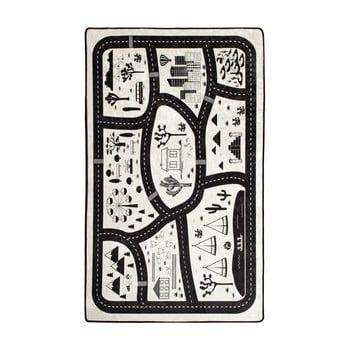 Covor copii Black City, 100 x 160 cm imagine