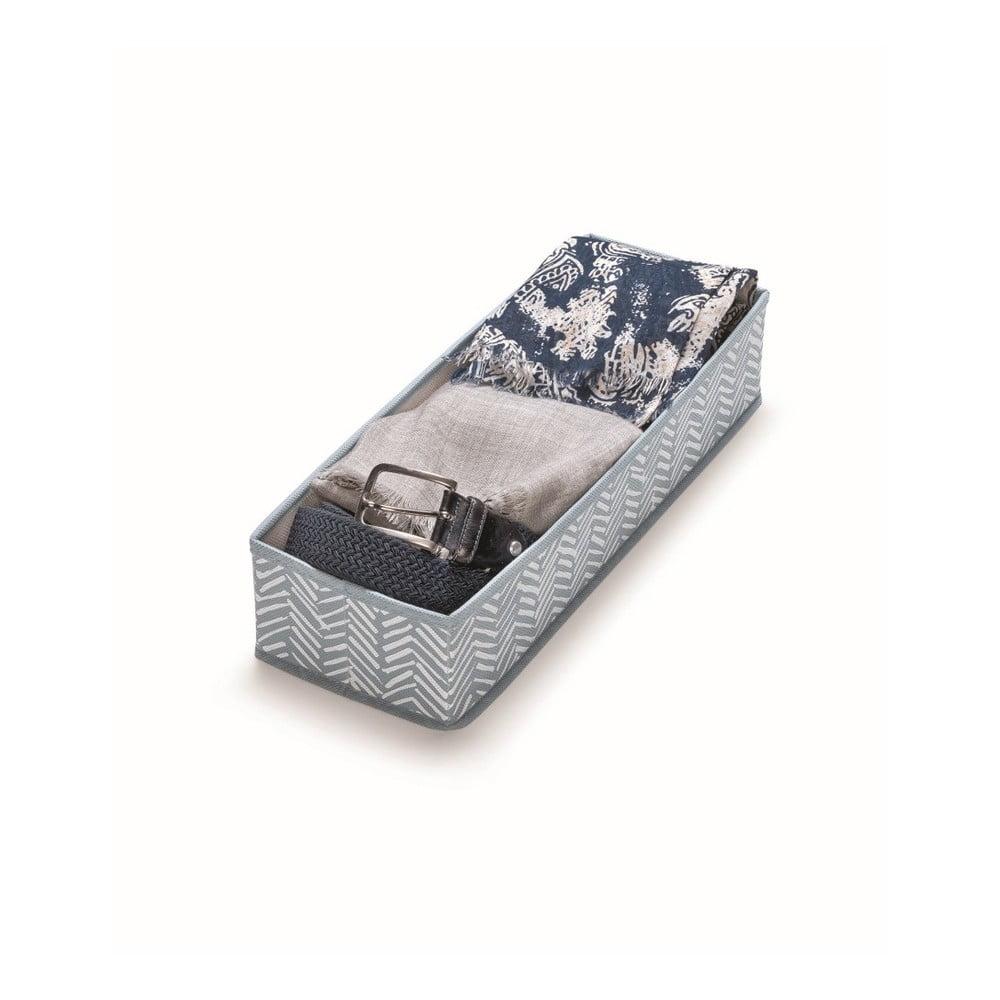 Modrý úložný box Cosatto Tweed, délka 42 cm