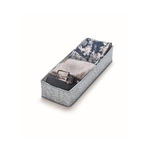 Cutie depozitare Cosatto Tweed, lungime 42 cm, albastru