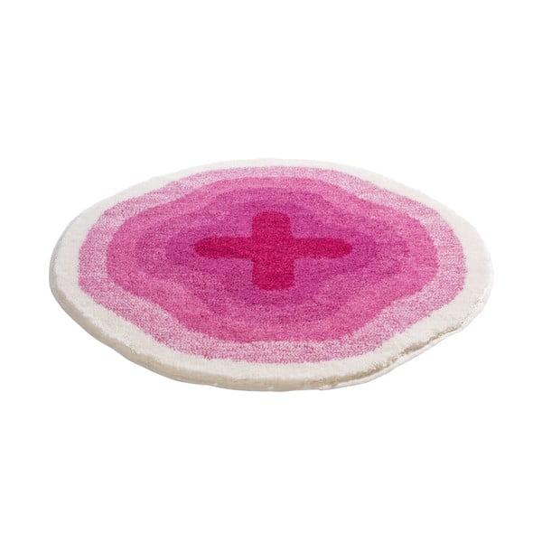 Koupelnová předložka Kolor My World III 90 cm, růžová