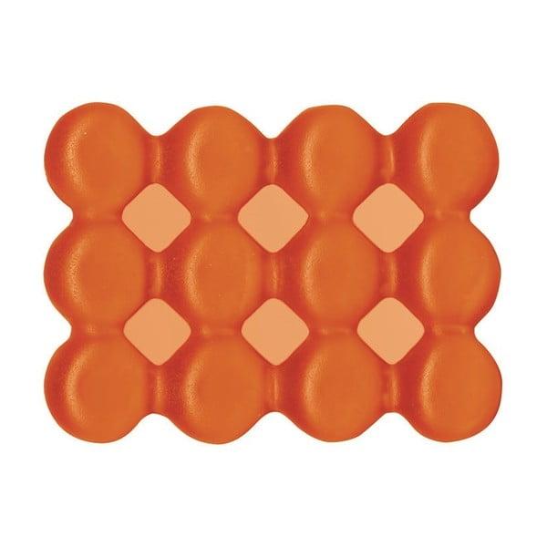 Protiskluzová miska na mýdlo Lebolle, oranžová
