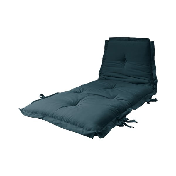 Variabilný modrý futón Karup Design Sit & Sleep Petrol Blue