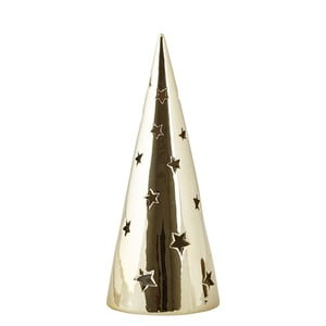 Svícen KJ Collection Tealight Holder Tree Gold, 24 cm