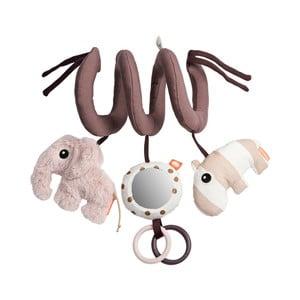 Růžová aktivní hrací spirála Done by Deer Elephant