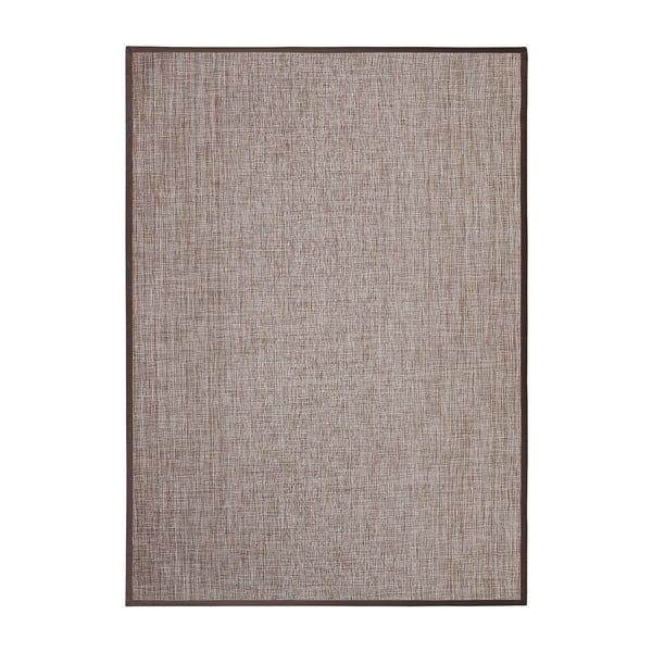 Hnědý koberec Universal Simply vhodný i do exteriéru, 150 x 100 cm